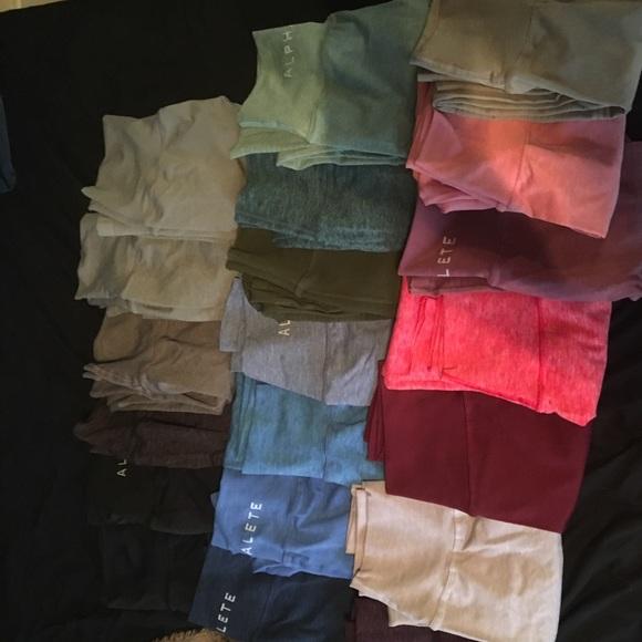 4b23fa26556fc Alphalete Pants   Entire Collection   Poshmark